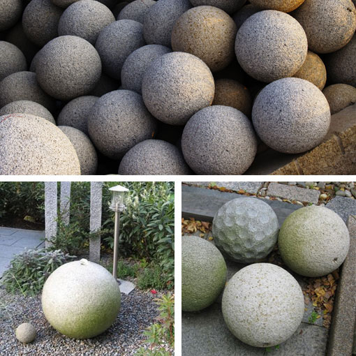 Garden Balls Decorative Delectable Bacchic India Stone Inspiration